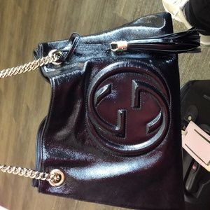 Gucci Bags - Blk GUCCI Soho shoulder bag